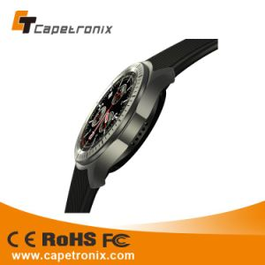 Amoled Display Smart Watch 3D Pedometer Sleep Monitoring Display Time Date Real-Time Temperature Smart Watch