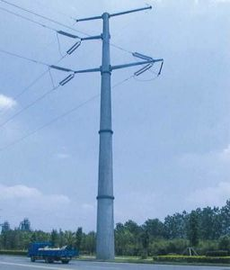 35kv Steel Tube Poles pictures & photos