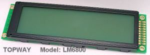 256X64 Graphic LCD Display COB Type LCD Module (LM6800) Specially Designed for 1u Case pictures & photos