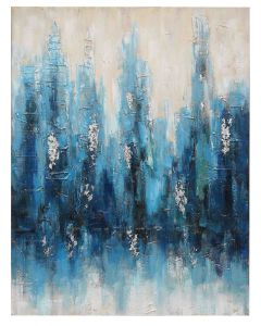 100% Handmade Abstract Oil Painting on Canvas pictures & photos