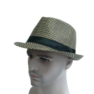 Paper Straw Fashion Fedora Hat