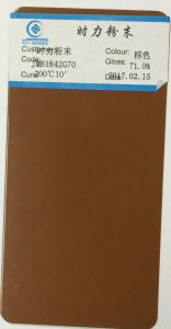 Jm81842g70 Shining Brand Brown Powder Coating Powder Paint