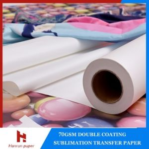 80GSM Roll Sublimation Heat Transfer Paper for Heat Transfer/Textile Printing