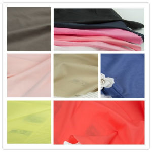 Guangzhou Wholesale 100% Cotton Plain Dyed Woven Garment Textile Fabric
