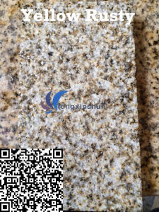 G682 Customized Natural Yellow Rusty Paving Stone