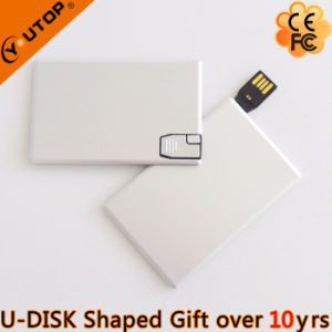 Business Gift Metal Credit Card USB Stick (YT-3117)