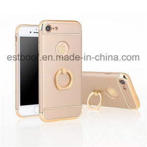 3 in 1 with Metal Ring Hard Shell Phone Case