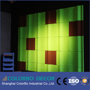 Easy Installation Polyester Fiber Acoustic Panel for Cinema pictures & photos