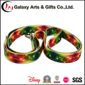 Colorful Sublimation Ribbon Polyester Dog Collar and Heat Transfer Polyester Pet Lead