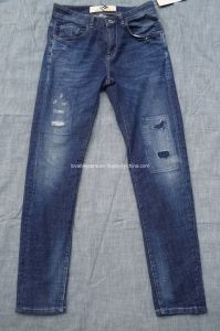10.1oz Destryoed Jeans for Men (HS-28401T^)