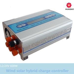 600W Wind Turbine Generator Solar Hybrid Power System
