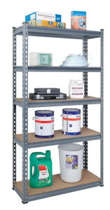5 Shelf Storage Unit Metal Rack (7030-70) pictures & photos