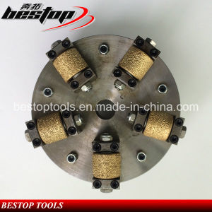 Vacuum Brazed Bush Hammer Tools for Stone Grinding pictures & photos