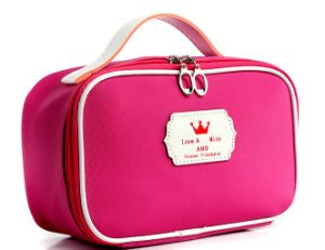 Women Promotion Nylon Makeup Cosmetic Bag
