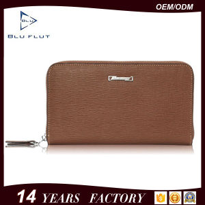 Fashion Men Hand Card Wallet Genuine Cowhide Leather Handbags pictures & photos