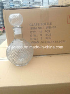 100ml~1L High Quality Glass Decanter with Various Shapes and Capacity