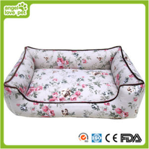 Cotton Pastoral Style Pet Bed Dog Bed pictures & photos