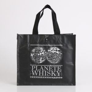 Non Woven Shopping Tote Bag with Customized Logo (YYNWB097)