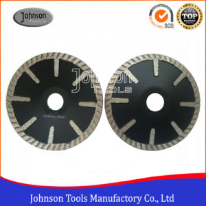 125mm Diamond Granite Concave Saw Blade for Cutting Granite and Marble pictures & photos