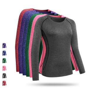 9f1ccda6 China Quick Dry Women′s Long Sleeve Fitness Gym Running Yoga T-Shirt ...