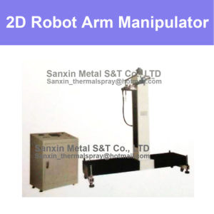 Vertical and Horizontal Dimension Manipulator Control Unit Center and Robot Arm Set for Thermal Spraying Coating Plating Whelding Glazing Painting