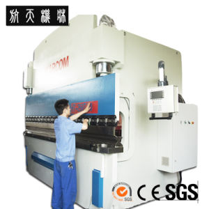 WC67Y Series CNC Hydraulic Press Brake Steel Bending Machine