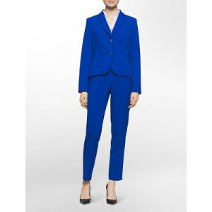 China Fancy Ladies Royal Blue Formal Suits Office Suits For Women
