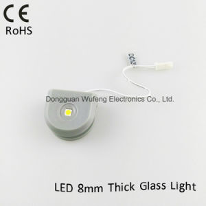 DC12V LED Glass Shelf Light for Wire Case Decoration