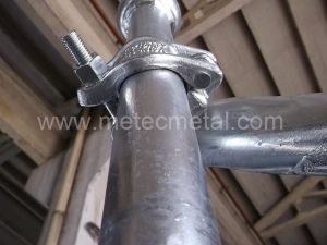 Clamp Brace for Cuplock Scaffolding System with Certification pictures & photos