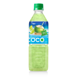 Whosaler 500ml Pet Bottle Mango Flavor Coconut Water pictures & photos
