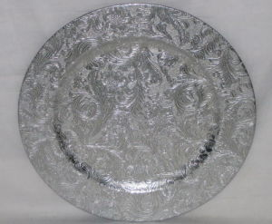 Christmas Silver Plastic Charger Plates (LJP1030-S) & China Christmas Silver Plastic Charger Plates (LJP1030-S) - China ...
