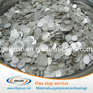 Lithium Ion Battery Lithium Chips for Coin Cell (99.9%) pictures & photos
