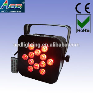 Hot 12*15W 5in1 RGBWA Wireless DMX Battery Powered LED Stage PAR Light