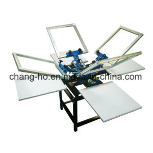 Wholesale Garment T-Shirt Silk Screen Printer pictures & photos