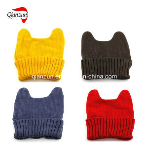 2013 Fashion Plain Knitted and Beanie Caps (ZJ1003) pictures & photos