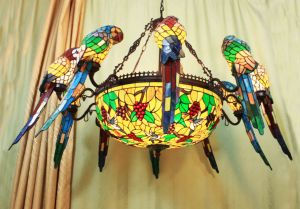 Art Tiffany Big Ceiling Lamp pictures & photos