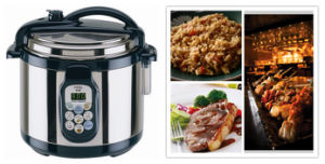 Digital Type Electric Pressure Cooker (YBW50-90A1)