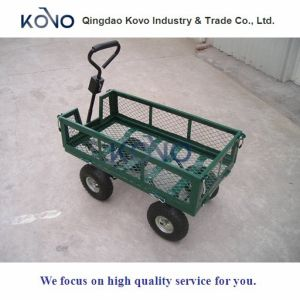 Wire Mesh Wagon Garden Cart with New Design pictures & photos
