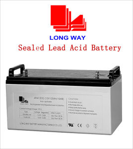 12V120ah Sealed Rechargeable Lead-Acid Battery (12V120AH/10HR) pictures & photos