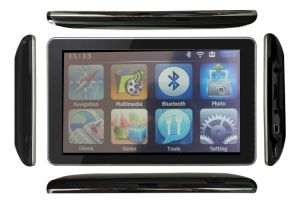 iPhone Apprearance GPS Fm, AV, Bluetooth and ISDB-T