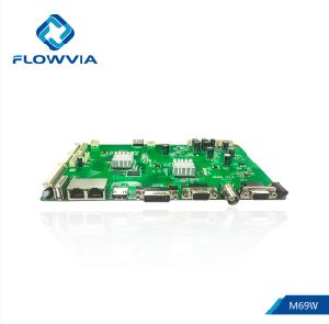 Flowvia M69W 50 Pin IP Loop out Through TFT HDMI DVI VGA Lvds USB Full LCD  Splicing LCD Panel Controller Driver Board