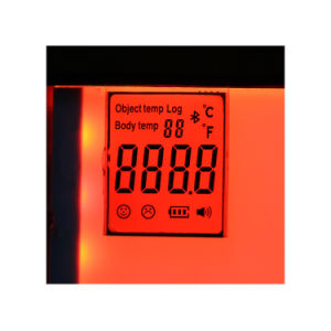 Customized Tn Positive LCD 5V LCD Displays for Temperature Meter