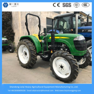 55HP 4WD Farm/Garden/Lawn/Walking/Mini/Agricultural/Compact Tractor with Hydraulic Steering and Differential Lock pictures & photos