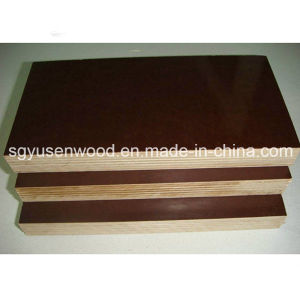 15mm Black Brown Film Faced Plywood pictures & photos