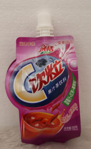 Plastic Stand up Spout Food Retort Pouch for Juice Packaging pictures & photos