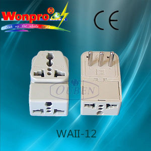 Universal Travel Adaptor (Socket, Plug) (WAII-12)