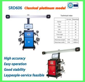 Wheel Alignment/Auto Repair Tools/Wheel Alignment System/3D Wheel Alignment pictures & photos