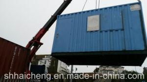 20ft Site Canteen / Mess Unit Containers with Foldable Window (shs-fp-kitchen&dining005) pictures & photos