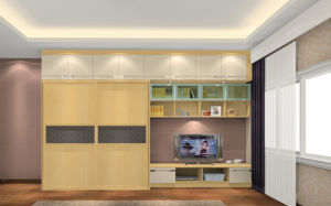 Modern Wooden Wardrobe Closet Bedroom Furniture (zy-010)