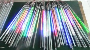 Holiday Lighting 10PCS/Set SMD2835 80cm LED Meteor Light String pictures & photos